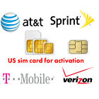 att activations - US Activation sim card Verizon T-Mobile AT&T Sprint for iPhone 5 5S 6 6S 7 8 X +