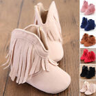 Cute Newborn Infant Baby Girl Boy Tassel Soft Shoes Boots Crib Shoes Toddler new