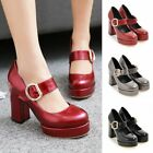 Womens Platforms Buckle Shoes High Heels Party Clubwear Prom Casual Sandals New