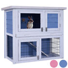 """32"""" Wooden Chicken Coop Rabbit Hutch Small Animal House Pet Cage"""