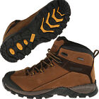 Wolverine Work Boots Mens Black Ledge LX Waterproof Leather Mid Cut Hiking Boots