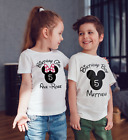 Disney inspired  Children's Birthday T shirt/ body suit!