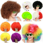 CURLY AFRO FANCY DRESS WIGS FUNKY DISCO CLOWN STYLE MENS/LADIES COSTUME HAIR NEW