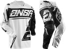 NEW 2018 ANSWER RACING SYNCRON GRAY BLACK ADULT RACE GEAR COMBO JERSEY PANTS MX