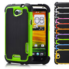 32nd Heavy Duty Dual-Layer Shockproof Case Cover for HTC Mobile Phones