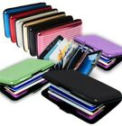 Babz Credit Card Business Card Holder Wallet Case Water Resistant Aluminium