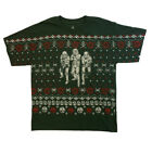 Star Wars BOYS  (XS -XL) Christmas Ugly Sweater Look T-shirt! STORM TROOPER-NEW!