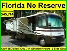 NO RESERVE 2005 SAFARI SIMBA 35FT 2 SLIDE OUTS CLASS A RV MOTORHOME CAMPER