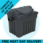 Pond Filter Box Premium - Kits for Outdoor Garden Fish Goldfish and Koi Ponds