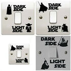 Star Wars Light Side Switch Decal Sticker Bedroom Room Lightswitch Wall
