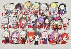 Hot Japan Anime Fate Grand Order Saber Zero Rubber Strap Keychain Pendant Gift