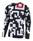 Troy Lee Designs 2018 GP Air Jersey Maze White/Black Youth All Sizes