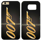 JAMES BOND 007 GOLD BACK PHONE CASE COVER FOR IPHONE SAMSUNG IPOD TOUCH £7.99 GBP