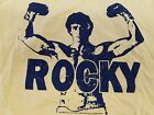 NWT: Sylvester Stallone a/k/a Rocky and Rambo Adult Small Short Sleeve Tee Shirt