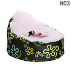 Newborn Baby Bean Bag Kids Sofa Chair Cover Soft Snuggle Bed Without Filling