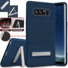 Samsung Galaxy S8 Plus Note 8 Hybrid Shockproof Bumper Hard Stand Case TPU Cover