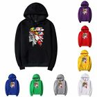 pure cotton Men's Long Sleeve fashion hoodies skull Hooded Jacketcoats clothing