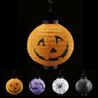 LED Paper Pumpkin Bat Spider Hanging Lantern Light Lamp Halloween Party Decor
