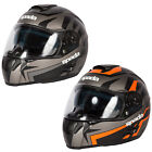 Spada Motorcycle Bike Unisex SP16 Voltor Protective Full Face Helmet Size XS-XL