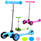 NEW KIDS PUSH PRO ADJUSTABLE 3 WHEELS STUNT TRICK SCOOTER 3 COLOURS