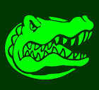 "Florida GATORS VINYL Decals Sticker 5""W X 4""H  BUY 2 GET 1 FREE"