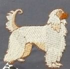 Bichon Frise Leash Dog Embroidery Many Items Quilt Sewing Carols Crate Cover