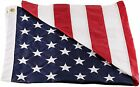 American Flag - 100% Made In USA - Nylon - Embroidered Stars - Sewn Stripes -New