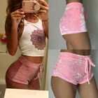 New Women Ladies Velvet High Waist Boxers Hot Runner Shorts Hot Pants Sexy