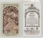 2011 Topps Gypsy Queen Mini Sepia #93 Victor Martinez Detroit Tigers Card