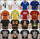pumpkins for halloween faces - Easy Costume T-shirt Lazy Halloween For Men Pumpkin Face Skeleton X-ray Tuxedo