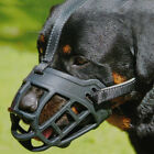 Kyпить Large Medium Dog Basket Muzzle Soft Silicone Mesh Cage No Barking Biting Chewing на еВаy.соm