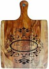 Engraved & Painted Bread/Chopping Board - Personalised Christmas Gift 1