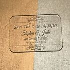 Save The Date - Laser Engraved & Cut Acrylic - Personalised Option 4 25 Pieces