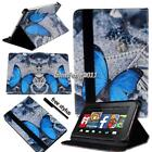 """FOLIO LEATHER STAND CASE COVER For Amazon Kindle Fire 7"""" HD 8"""" ( 7th Gen 2017)"""