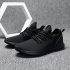 Mens Walking Casual Athletic Running Shoes white Sneakers Light Weight Go Easy