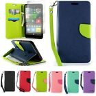 For Microsoft Lumia 640 XL Wallet Case Flip Folio Pouch Cover & Screen Protector