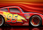 LIGHTNING MCQUEEN CARS 3 MOVIE HIGHT QUALITY GLOSSY POSTER PRINT A4 A3 DISNEY