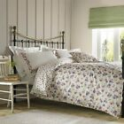 Emma Bridgewater Wallflower Floral Spotted Purple Duvet  Cover Bedding Set