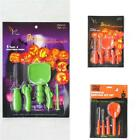 Sale Halloween Party Pumpkin Carving Kit DIY 5 Tools Toys Light NEW & Boxed