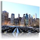 NEW YORK CITY  View Canvas Wall Art Picture Large SIZES  L126  X