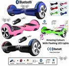 "6.5"" 2 WHEELS SELF BALANCING SCOOTER BALANCE BOARD Bluetooth + LED + Remote UK )"