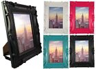 "Weyli 4x6 or 5x7 Photo Picture Frame, Embossed Thick Border Design, 1.25"" Wide"