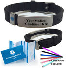 epilepsy color - Pre-engraved ADVISOR Medical Alert ID Bracelet. Choose Medical Cond.