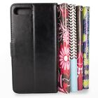 For Apple iPhone 8 Plus / 7 Plus Wallet Case - Synthetic Leather Card Slot Cover