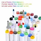 Ohuhu 80 pcs Dual Tips Art Sketch Twin Permanent Marker Pens Highlighters W Case