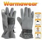 Fleece Thermal Heated Touchscreen Gloves Mens Ladies Electric Battery Warmawear