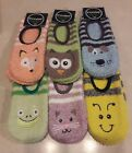 Nwt Snoozie! Mary Jane Non Slip Slipper Bootie Socks! Soft & Cute! Free Us Ship!