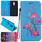 W/Strap Wallet Card Shockproof Flip PU Leather Stand Holder Case Cover For Nokia