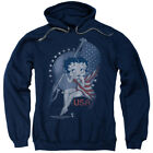 Betty Boop Proud Betty Pullover Hoodies for Men or Kids $41.6 USD