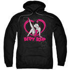 Betty Boop Scrolling Hearts Pullover Hoodies for Men or Kids $41.6 USD